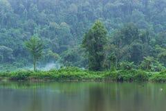 Situ Gunung jezioro Zdjęcia Royalty Free