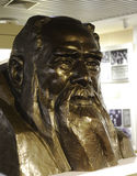 Situ meitang statue. Situ meitang (1868-1955), a famous overseas chinese living in america, china zhi gong party founder. march 1882 went to the united states to Stock Photos