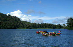situ patenggang łodzi obrazy royalty free