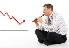 Situação do mercado de valores de acção Imagem de Stock