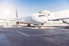 Situação plana enorme no airdrome Imagem de Stock