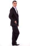 Situación con estilo joven del hombre de negocios Foto de archivo