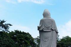Situación de Guanyin Buda Fotos de archivo libres de regalías