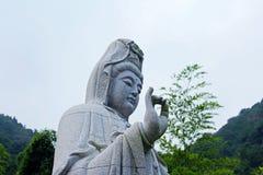 Situación de Guanyin Buda Imagen de archivo libre de regalías