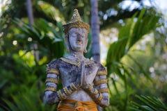 Situación de la paz tailandesa Imagen de archivo libre de regalías