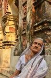 Situación de la viuda en la India Fotografía de archivo libre de regalías