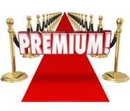 Situación de prioridad superior del cliente del top del tratamiento de alfombra roja Imagenes de archivo