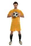 Situación del jugador de fútbol imagen de archivo