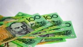 Situación financiera australiana almacen de video