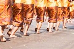 Situación tailandesa de la danza imagenes de archivo