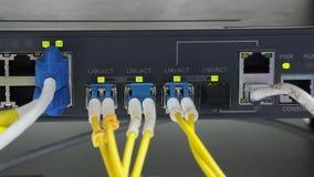 Situación y conexiones de las luces almacen de video