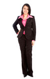 Situación de la mujer de negocios Fotografía de archivo libre de regalías