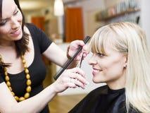 Situação do salão de beleza do cabelo Fotos de Stock