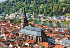 Top view of the Heidelberg,Germany Royalty Free Stock Image