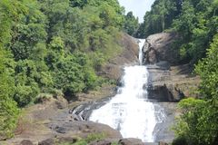 This is a bopath ella. It situated rathnapura district.it is the one of the very fantastic water fall in sri lanka Royalty Free Stock Photos