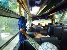 Situatie op de bus Royalty-vrije Stock Foto's