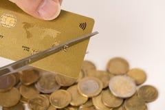 Situation conceptuelle de finances de danger Photo stock