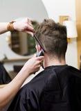 Situation de salon de cheveu Images libres de droits