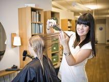 Situation de salon de cheveu Photo libre de droits