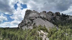 Situation géographique nationale Mt Rushmore le Dakota du Sud photos stock