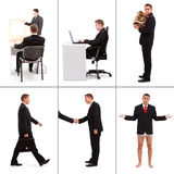 Situations in business Royalty Free Stock Image
