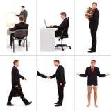 Situations dans les affaires image libre de droits