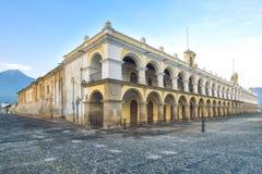 Palacio de los Capitans Antigua, Guatemala Fotografia Stock