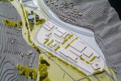 Situez le modèle environnant pour la présentation et le backgr architecturaux photos libres de droits