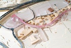 Situez le modèle environnant pour la présentation et le backgr architecturaux photo libre de droits