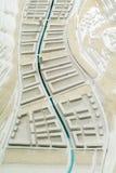 Situez le modèle environnant pour la présentation et le backgr architecturaux photo stock