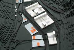 Situez le modèle environnant pour la présentation et le backgr architecturaux photographie stock libre de droits
