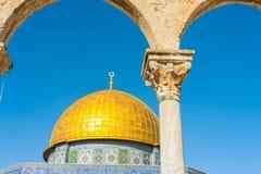 sity утеса Иерусалима купола старое Стоковое Изображение RF