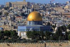 sity утеса Иерусалима купола старое Стоковые Фотографии RF