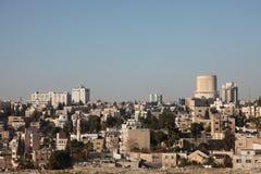 Sity Amman del hight de la opinión de Asia, Jordania fotografía de archivo libre de regalías
