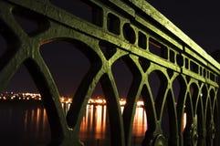 Sity da noite Foto de Stock Royalty Free