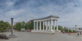 Sity de Chernomorsk perto de Odessa, Ucrânia foto de stock
