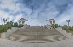 Sity de Chernomorsk perto de Odessa, Ucrânia foto de stock royalty free