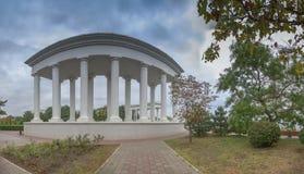 Sity de Chernomorsk près d'Odessa, Ukraine Images stock