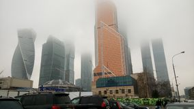 Sity de Moscou Moscowsity verão dias fotos de stock royalty free