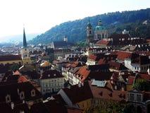 Sity de République Tchèque de Prague Images libres de droits