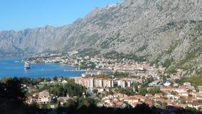 Sity di Cattaro nel Montenegro Fotografia Stock