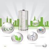 Sity di Eco Fotografia Stock