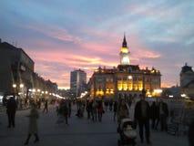 Sity-holl - Novi Sad Lizenzfreies Stockbild