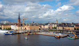 Sityscape της Στοκχόλμης Στοκ Εικόνα