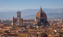 Sityscape di Firenze Fotografia Stock Libera da Diritti