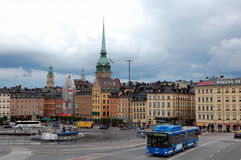 Sityscape of Stockholm Stock Image