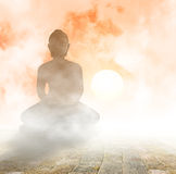 Sitz-Buddha Stockbilder