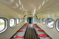 Sitzbereich für parachut Springen Stockfotos