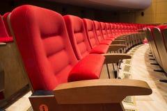 Sitze in einem Theater und in einer Oper Lizenzfreies Stockfoto