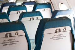 Sitze eines annuated Flugzeuges Lizenzfreies Stockbild
